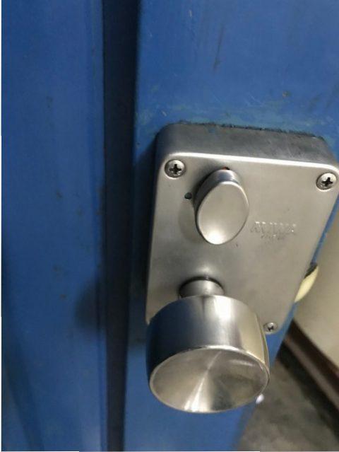 ミワ U9PMK鍵交換後内側